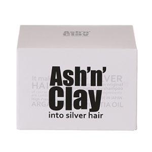 銀髪用ワックス、まばらな白髪を全体にシックに決めるヘアワックス。